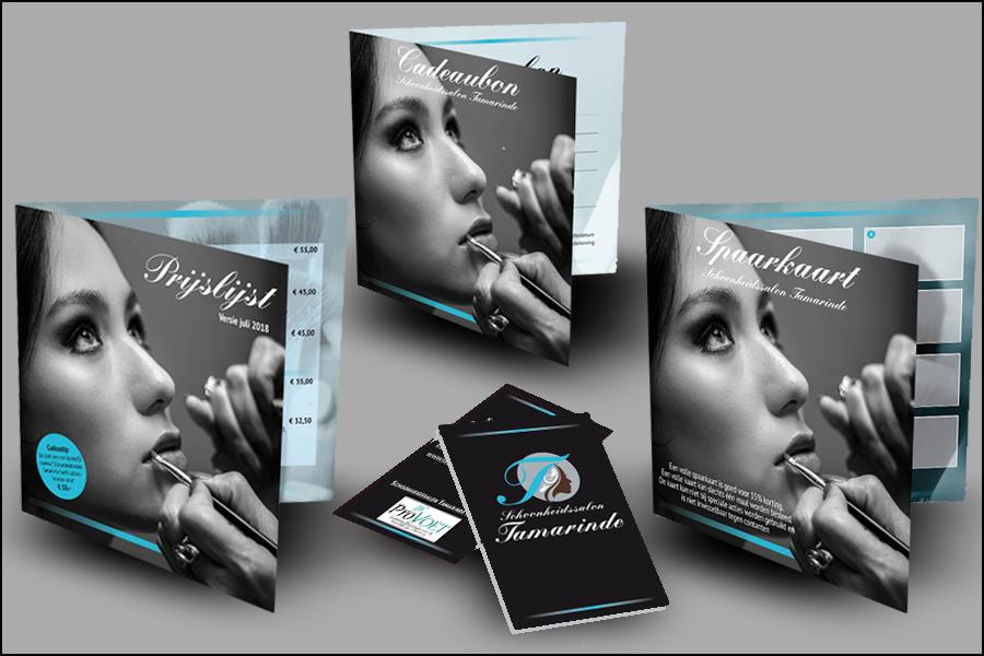 COMPLETE HUISSTIJL Logo-ontwerp in combinatie met visitekaartjes, documentatiemateriaal en website.