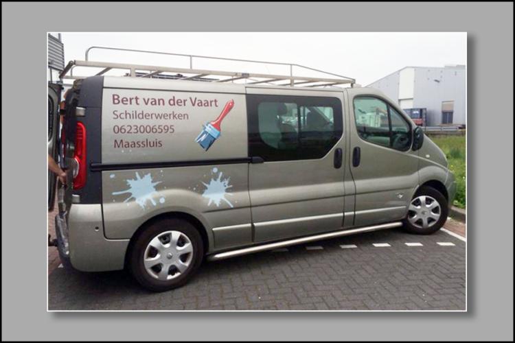 600x900px VdVaart bus Montage Buitenreclame