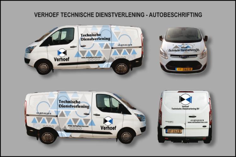 600x900px Verhoef Ford Custom Montage Buitenreclame