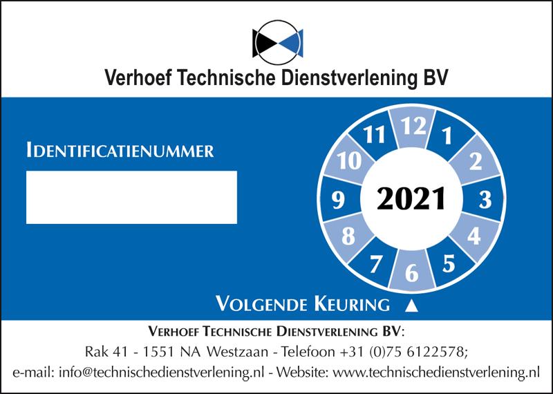 800x570px UVD-sticker Verhoef