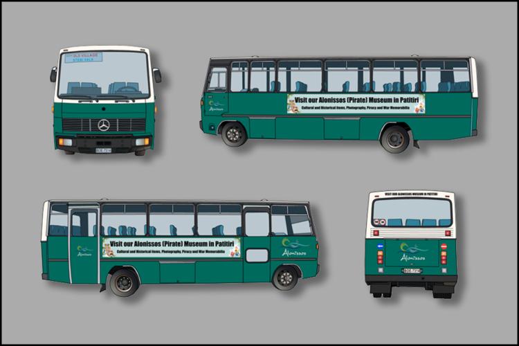 900x600px Al-Bus Montage Buitenreclame vrij